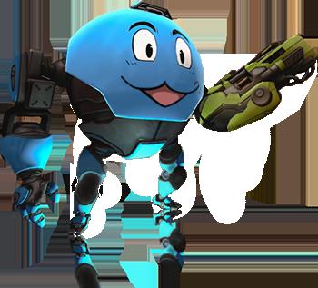 Diabotical Eggbot Transparent