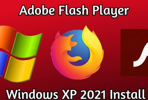 adobe flash windows xp